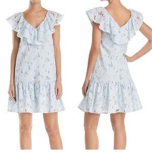 NWT Rebecca Taylor Adriana Ruffled Dress,size 4